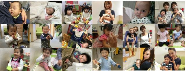当院に来院されているママと子供たち