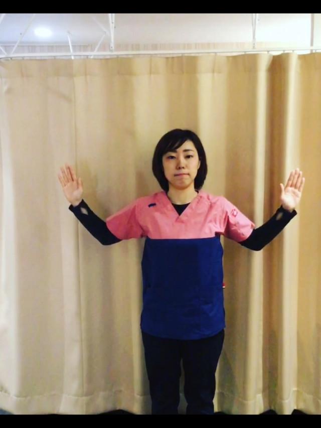 肩甲骨エクササイズ1-2